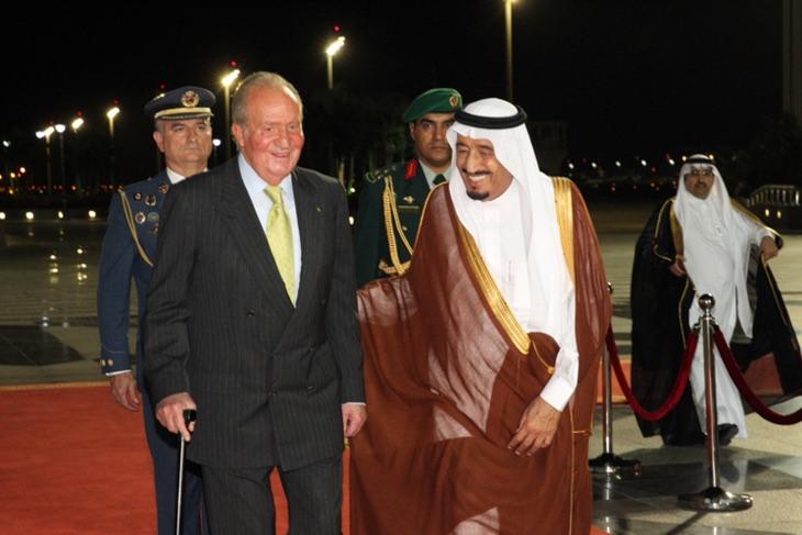 El Rey Juan Carlos y el Príncipe Salman de Arabia Saudí son amiguis