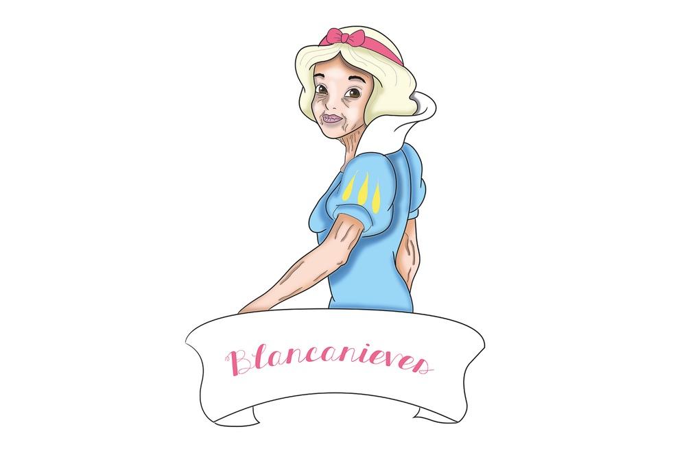A Blancanieves ya no le queda mucho a sus 92 años (Roberto Cruz)