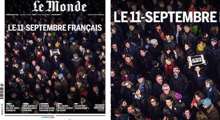 Portada 'Le Monde'