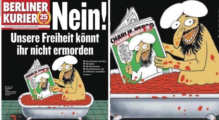 Portada 'Berliner Kurier'