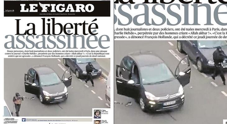 Portada 'Le Figaro'