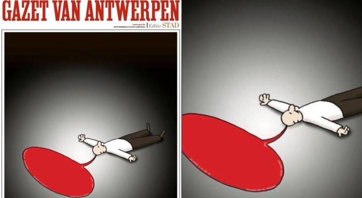 Portada 'Gazet Van Antwerpen'
