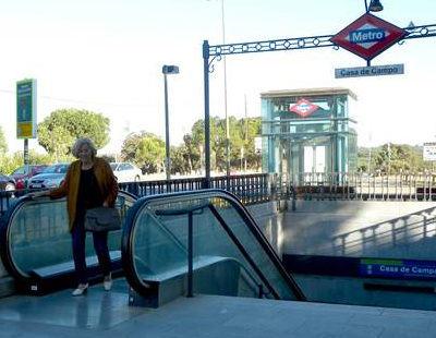Manuela Carmena, la alcaldesa que viajaba en metro