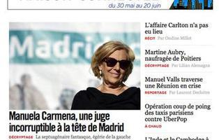 Manuela Carmena, alcaldesa de Madrid: así lo ha contado la prensa