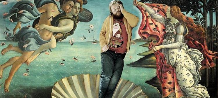 Alfredsson dentro de el cuadro