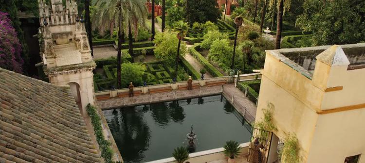 El Alcázar Real convertido en Dorne para 'Juego de Tronos'