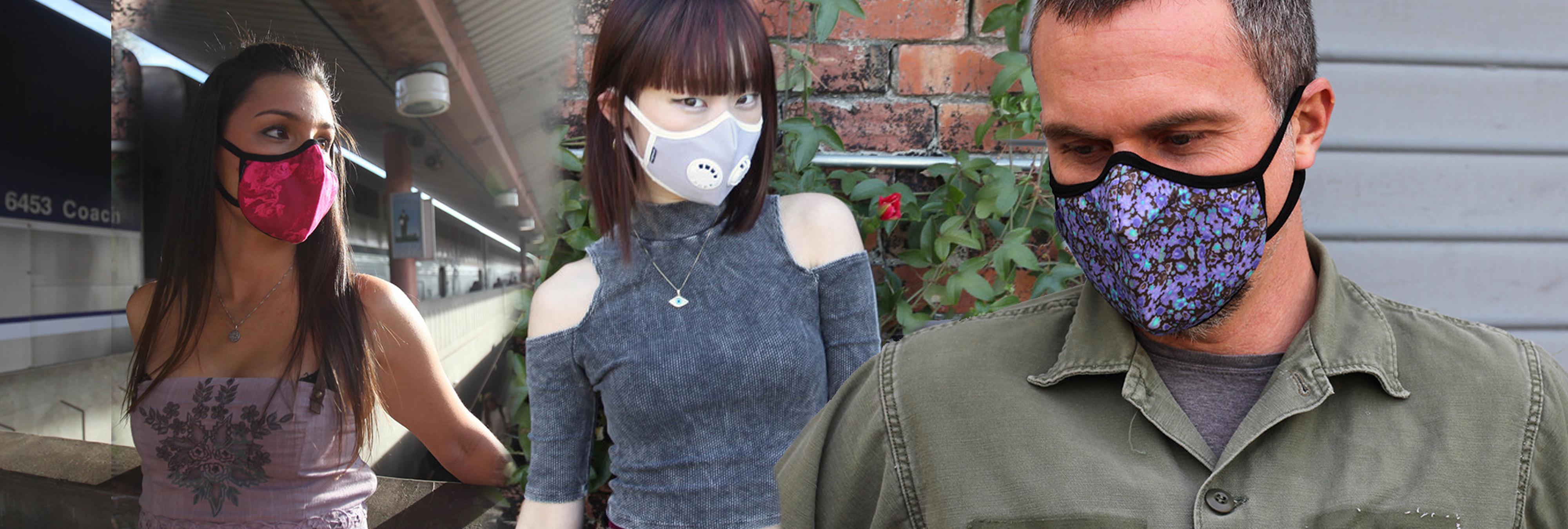 Aire limpio con estilo: China introduce las máscaras contra la polución en sus pasarelas de moda