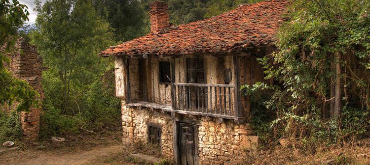 Una de las casas del pueblo | Foto: Zingarte