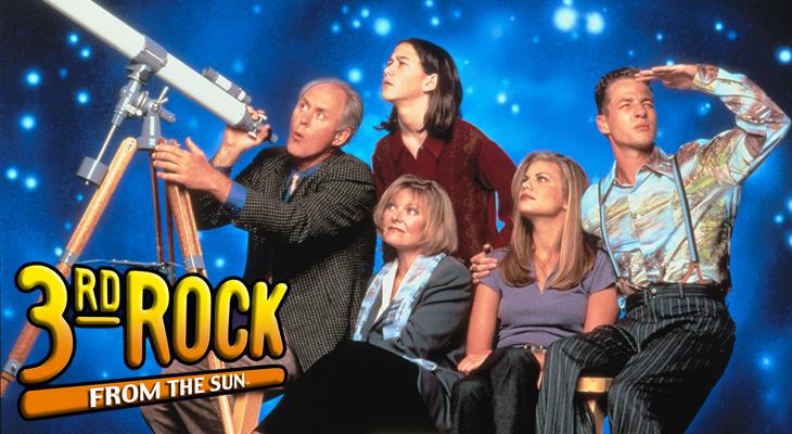 '3rd Rock from the Sun' fue 'Cosas de marcianos'