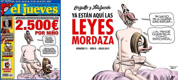Orgullo y Satisfacción lleva a los Reyes a su portada al estilo del número censurado de El Jueves