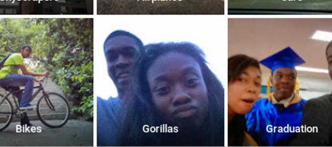 'Los únicos que estamos etiquetados como gorilas somos mi amiga y yo', dijo Alciné en Twitter