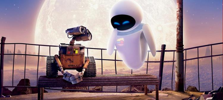 El lenguaje de Wall-E y Eva se basa en la repetición de sus nombres