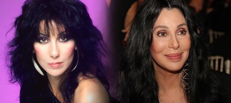 Así ha cambiado la cantante Cher desde los 80 hasta la actualidad