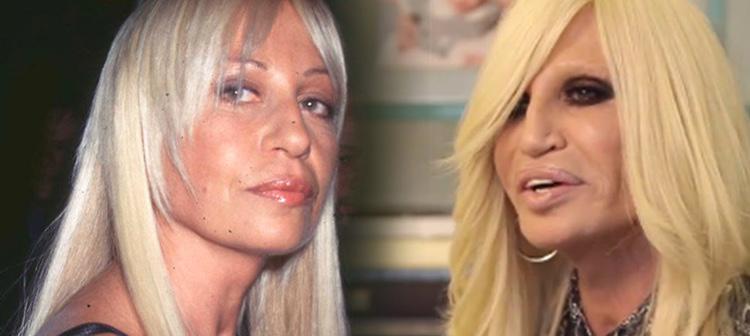 Según transcurren los años, la hermana de Versace está cada vez más irreconocible