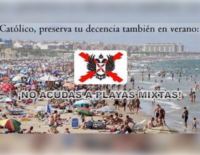 Un grupo carlista quiere playas separadas por sexos para evitar el pecado