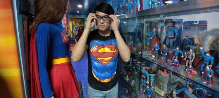 Chávez quiere ampliar su colección de objetos de Superman a 10.000