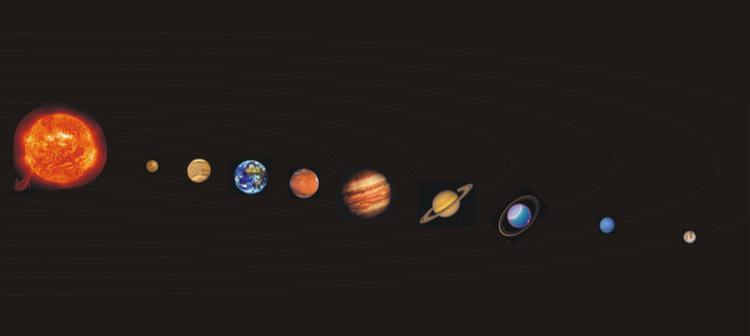 El Sistema Solar fue compuesto, hasta 2006, por nueve planetas