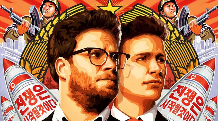 Cartel de 'The Interview', la película de la polémica con Corea dle Sur
