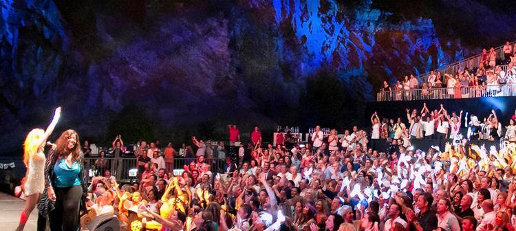 El festival Starlite se celebra en una cantera de Marbella