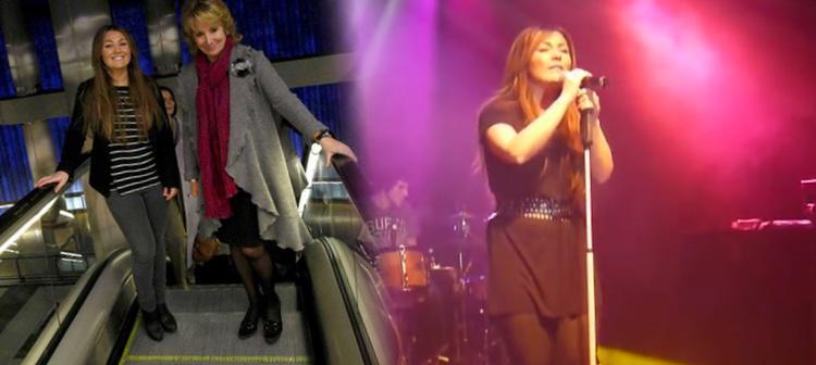 'Creadoras en el Metro' ha reunido a varias cantantes que han tocado en la estación de Chamartín