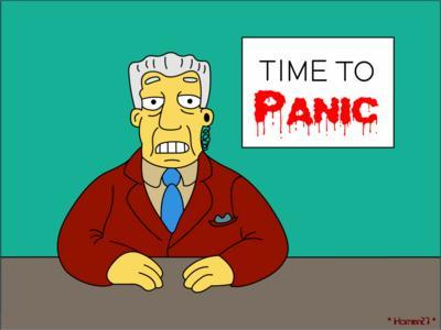Es la hora del pánico