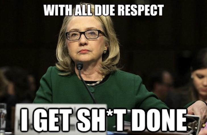Hillary Clinton tiene experiencia