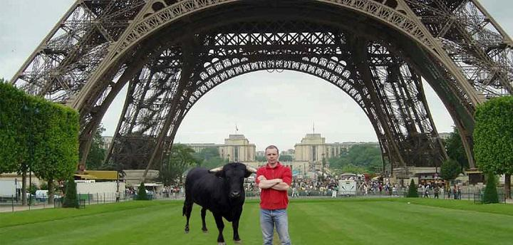 Fadjen y Christophe en París