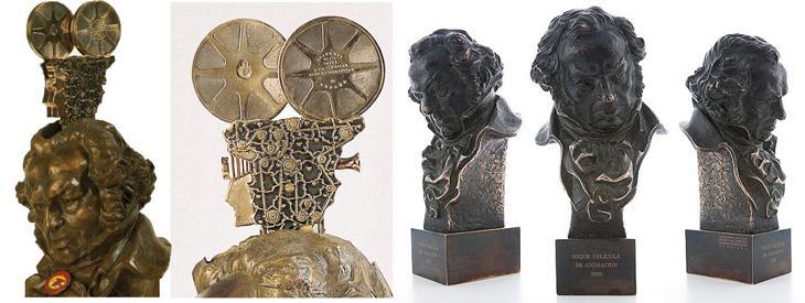 Premios Goya (1987) vs. Premios Goya (2016)