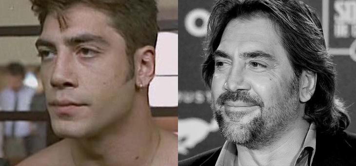 Javier Bardem (1992) vs. Javier Bardem (2015)