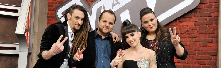 Dina y sus otros compañeros finalistas