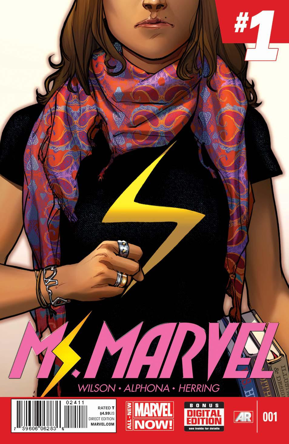 Portada de 'Ms. Marvel'
