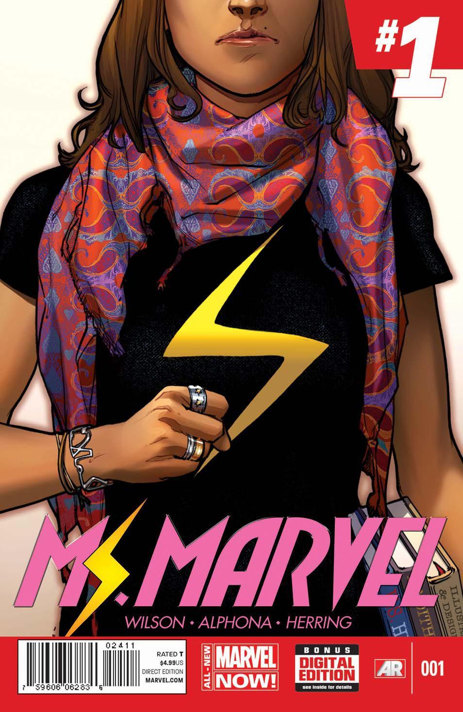 Portada de 'Ms. Marvel'