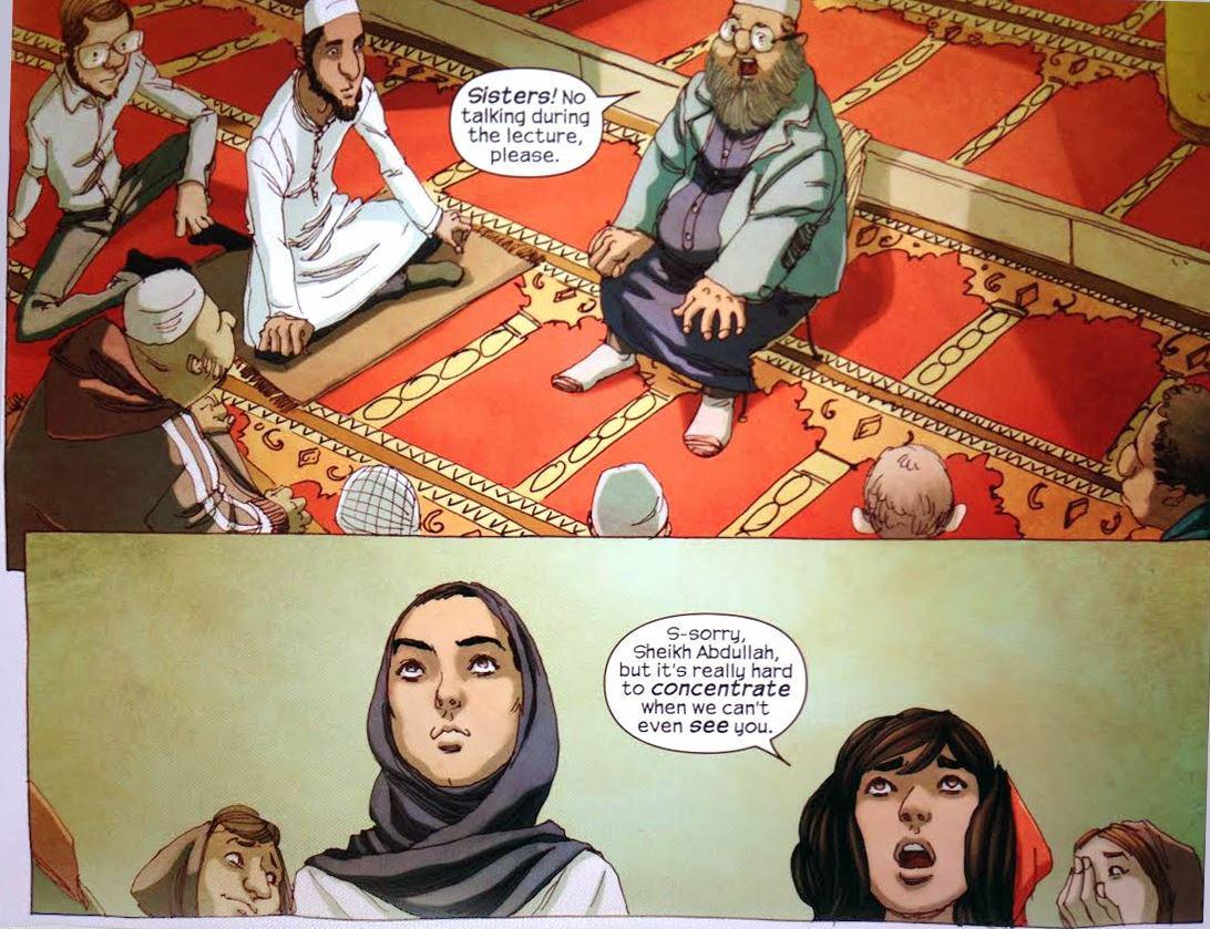 Al salir de la mezquita: la serie