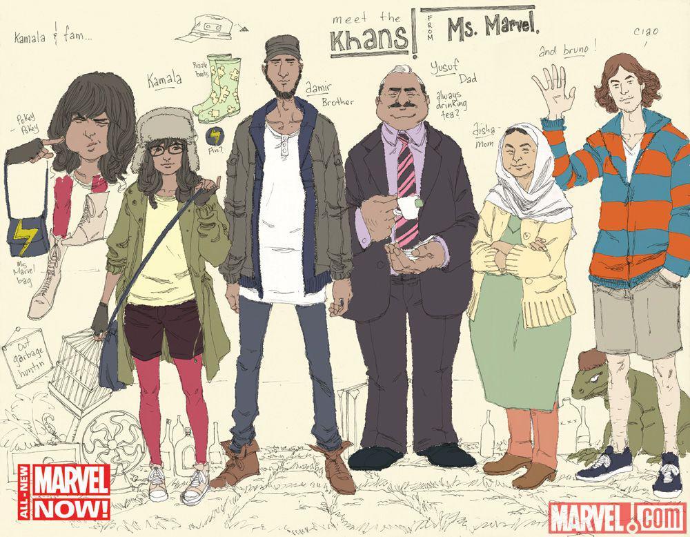 Los personajes del entorno de Kamala