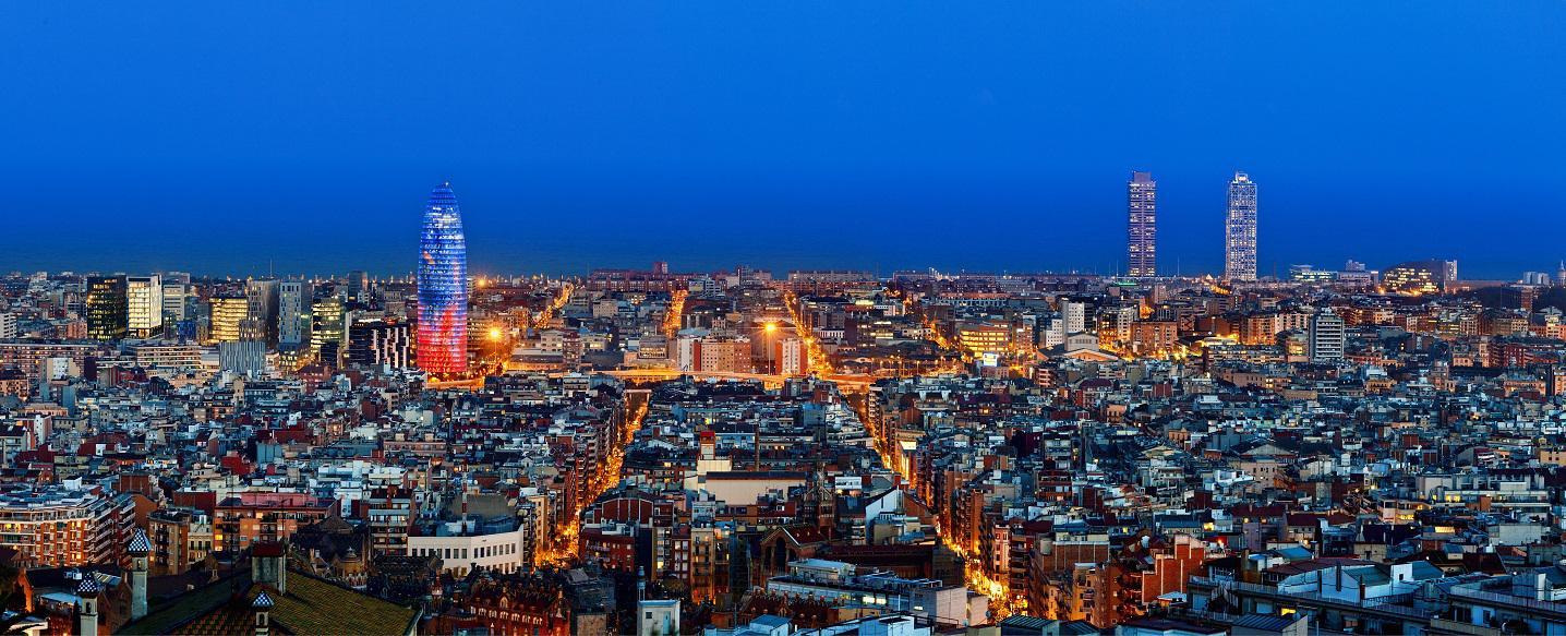 Skyline de Barcelona. Fuente: UAB