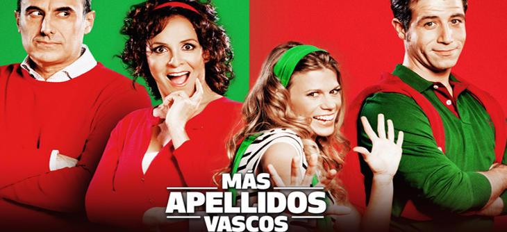 Cartel promocional de la obra de teatro 'Más apellidos vascos'