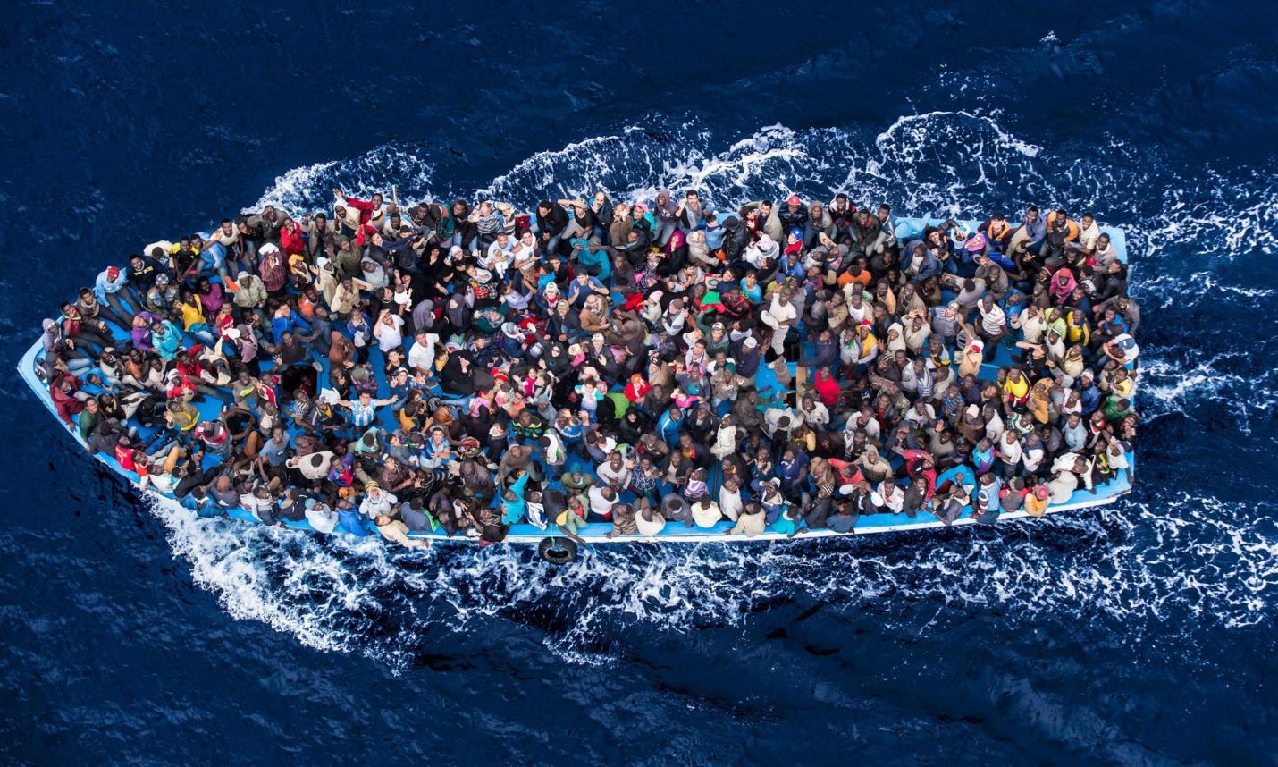La mayor parte de los refugiados ha sido acogida por los países vecinos de Siria