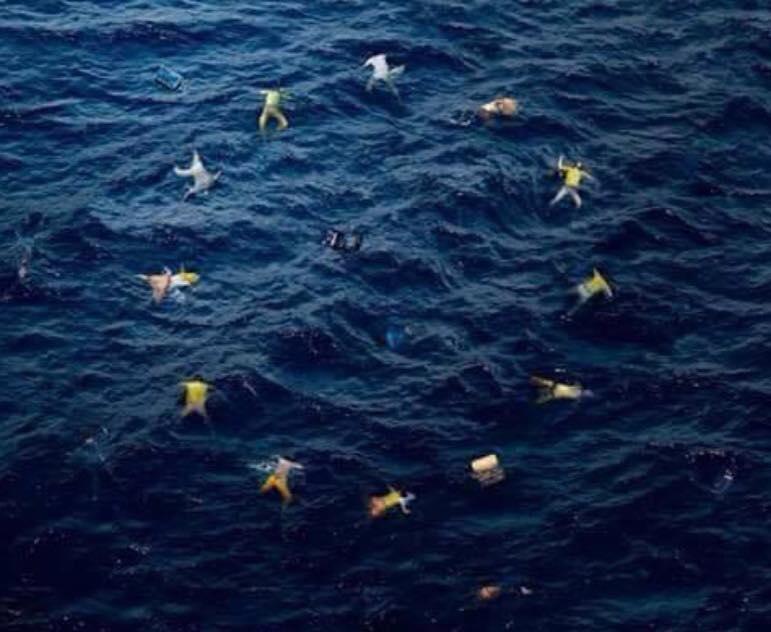 'La Unión Europea' por Bansky
