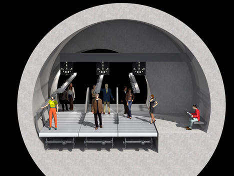 El metro como un largo trasbordo