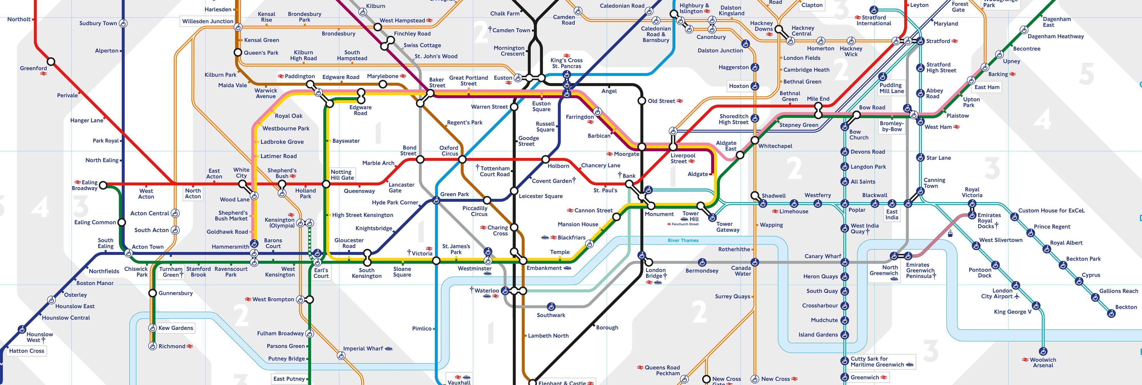 Proponen sustituir una línea del metro de Londres por pasillos rodantes