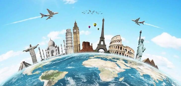 Viaja por el mundo, viaja por todas partes