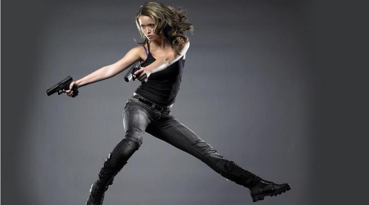 Summer Glau, bailarina y experta en artes marciales