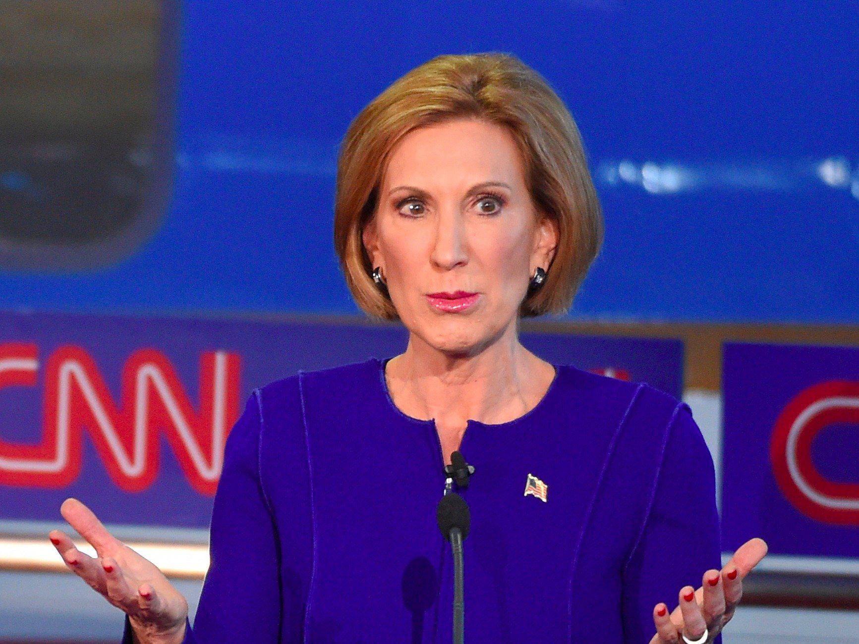 Carly Fiorina, ganadora del debate según la mayoría de medios y sondeos
