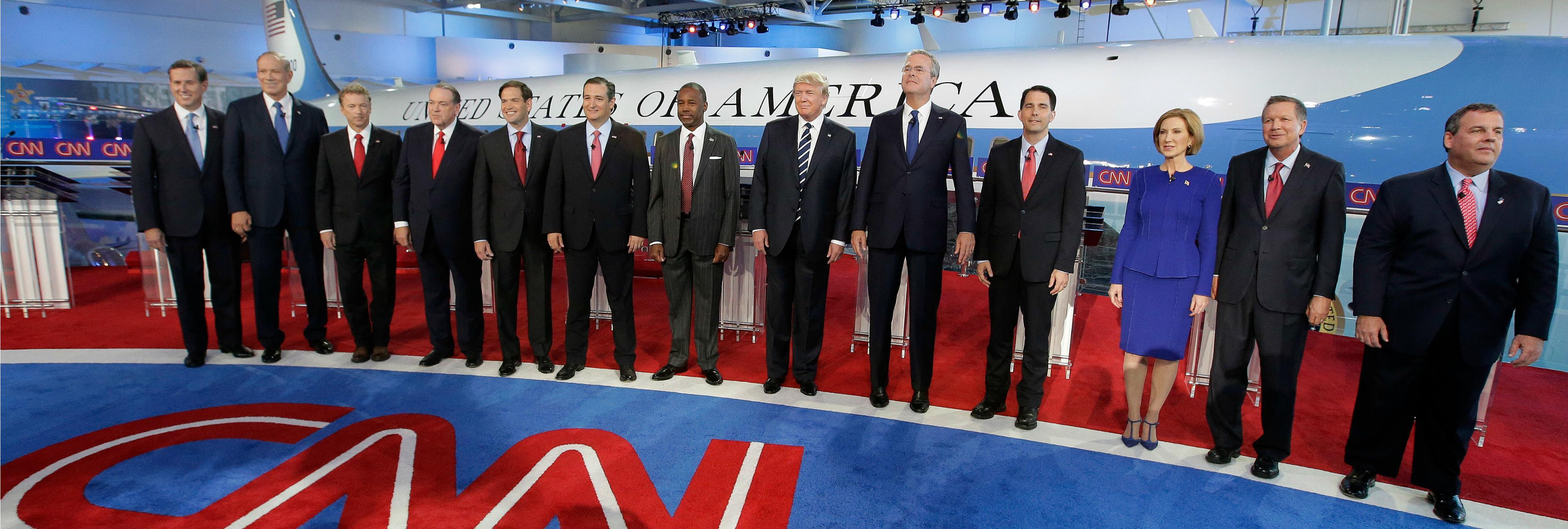 8 momentos clave del debate del Partido Republicano en CNN