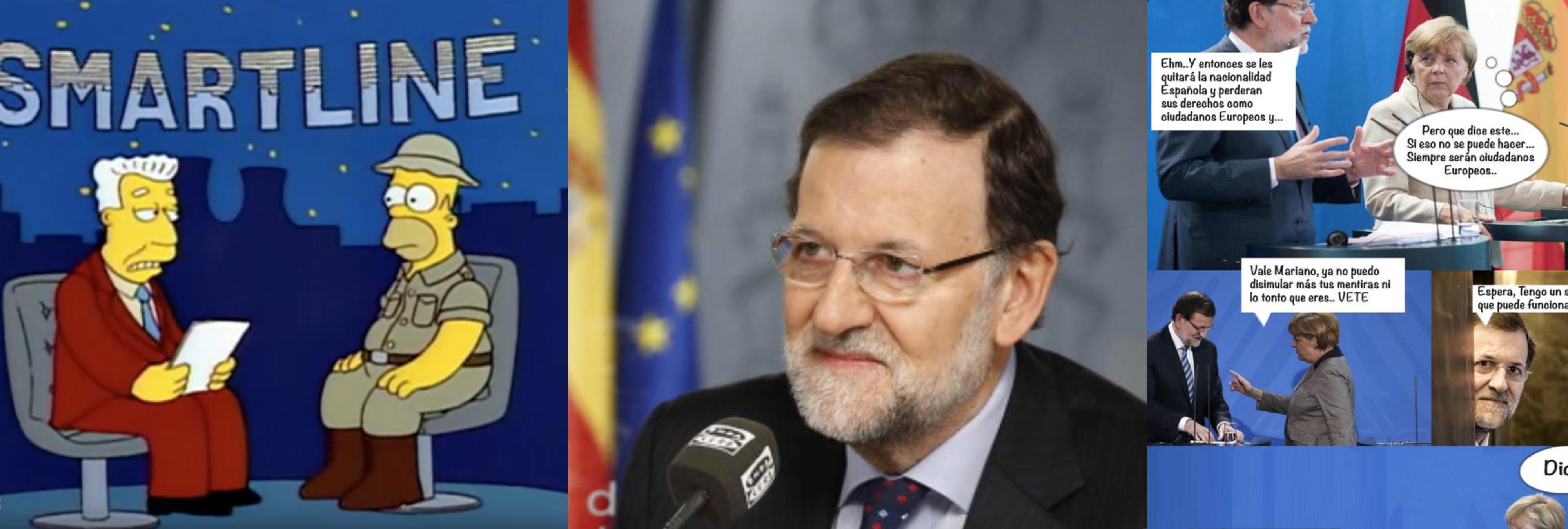 Los mejores memes de Rajoy y su lío con la nacionalidad española