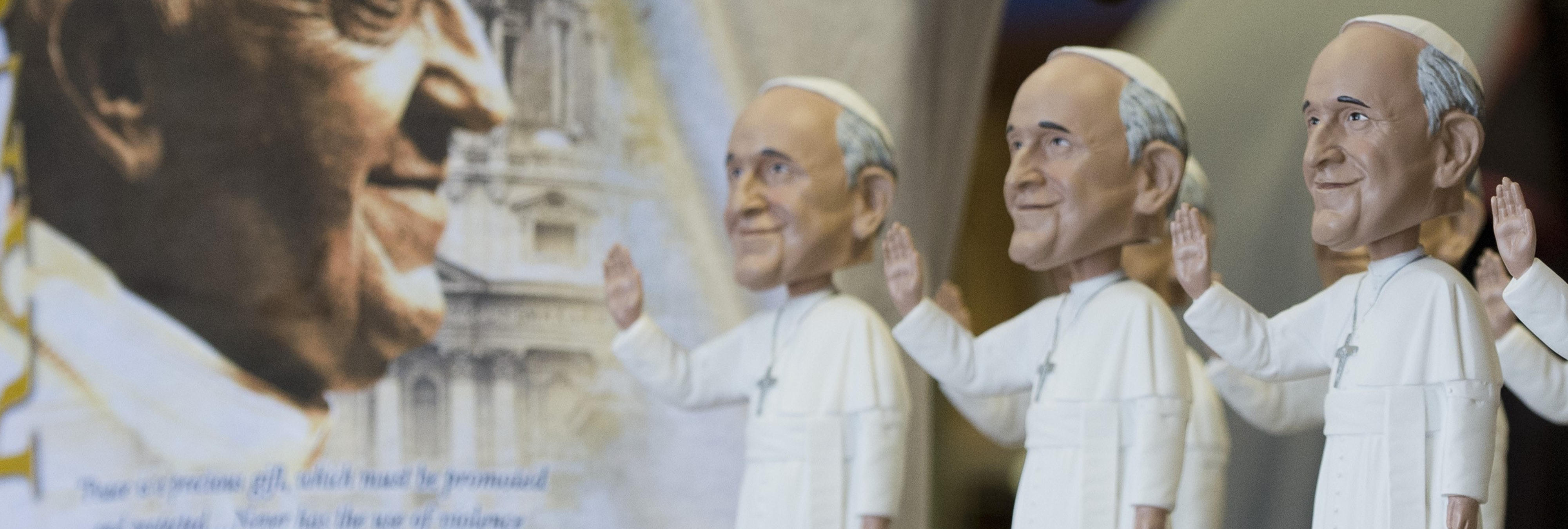 Las monjas van como groupies a ver al Papa Francisco en EEUU