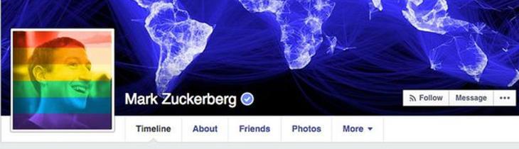 Facebook también fue objetivo de Rusia por las fotos de perfil con la bandera gay