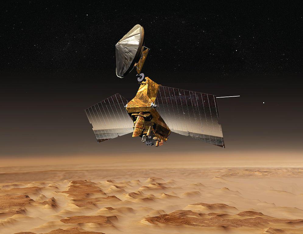 La sonda MRO (Fuente: NASA)