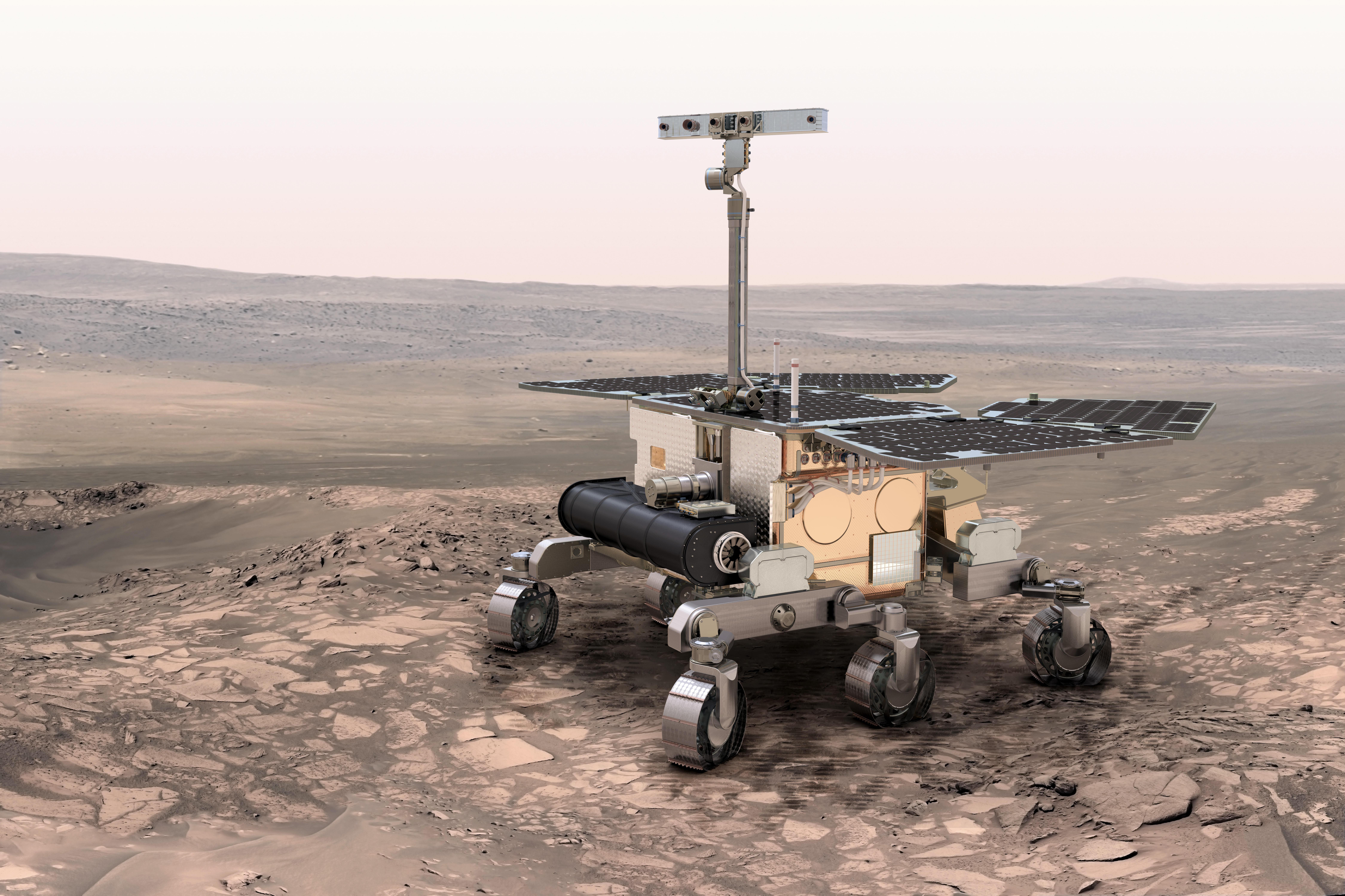 El próximo rover en Marte (Fuente: ESA)