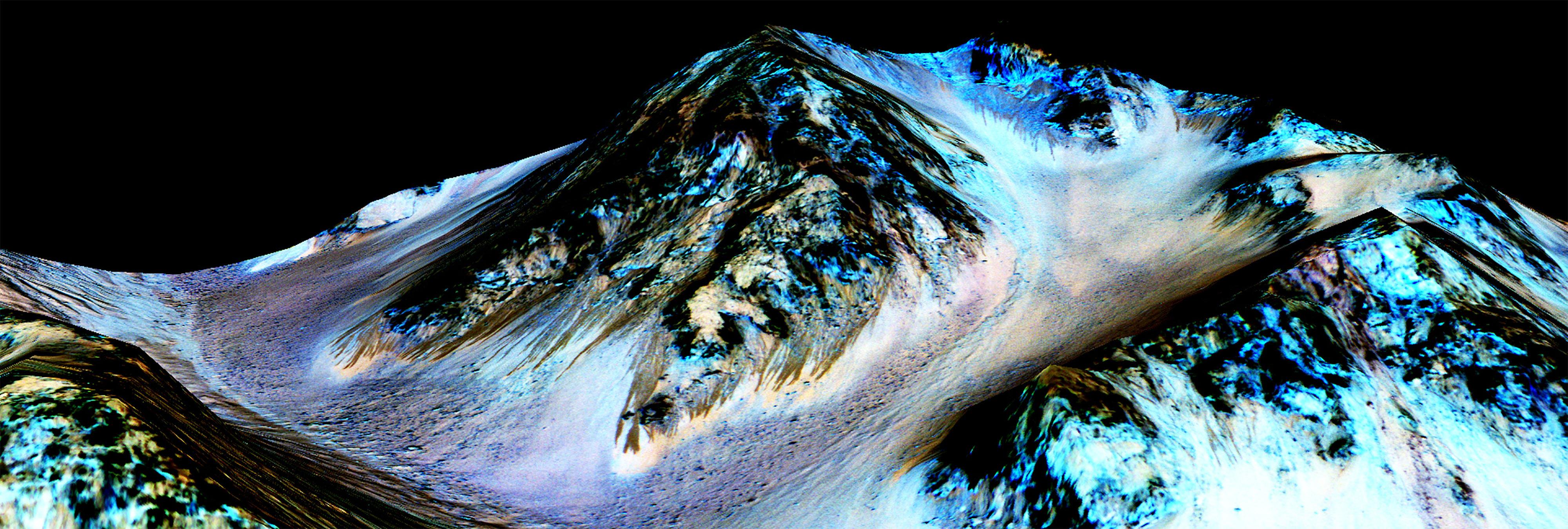 El hallazgo de agua líquida en Marte, explicado
